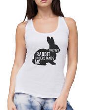 Only My Rabbit Understand Me Womens Vest Tank Top