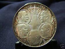 1963 Silver Greek 30 Drachmai Five Greek Kings GEM!!!