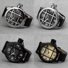 MOLNIJA 3602 rusische Armbanduhr Taucheruhr Kampftaucher mechanisch XXL