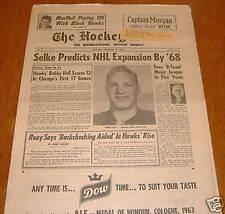 hockey news  nov 23 1963 vol 17 # 8  bobby hull
