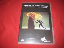 TRIBUTE TO JOHN COLTRANE DVD LIVE UNDER THE SKY 87 PAL