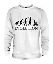 Vélo Évolution de L'Homme Unisexe Pull pour Hommes Femmes Cadeau Dames