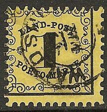 Baden 1862 MI 1x  CANC  F/VF