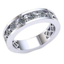 1.7ctw Princess Diamond Ladies Bridal Fancy Eternity With Sizing Bar 18k Gold