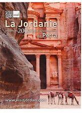 PUBLICITE ADVERTISING 2011 LA JORDANIE célèbre les 200 ans  Petra