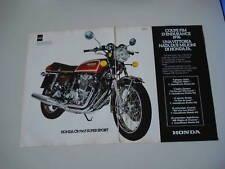 advertising Pubblicità 1977 HONDA CB 750 F SUPER SPORT