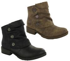 Blowfish Malibu Vegan Womens Vynn Ankle Boots Fashion Shoes UK 3-8