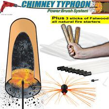 S4U® Chimney Typhoon™ Power Sweep - 6m/8m/10m/12m/15m/20m Plus Fatwood