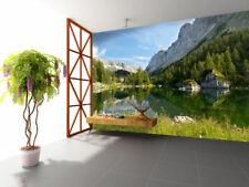 3D Mountain River Nature 709 Wall Paper Wall Print Decal Wall AJ WALLPAPER CA
