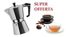 CAFFE' CAFFETTIERA ESPRESSO NAPOLETANA MEZZA 1-2-3-TAZZA TAZZE OFFERTA