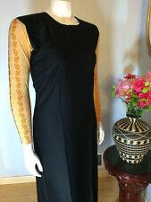 Stretch Fitted Sleeve Sparkle Abaya Muslim Jilbab With Hijab Size 60 XL
