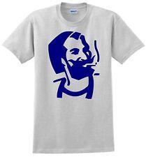 Zig-Zag Man T-shirt. Ash Gray, Khaki, White, Yellow. Small thru XXX-Large Cotton