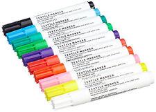 TOP Textilstifte 10er Set Beleduc Stoffmalstifte Textilmarker Stoffmarker malen