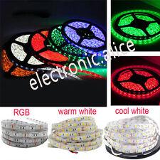 1M-5M SMD 5050 RGB white Waterproof 300LED Flexible 3M Tape Strip Light DC12V
