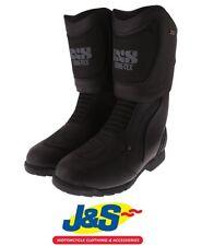 IXS Ultra Evo II 2 Gore Tex Motorcycle Boots Black Touring Waterproof Winter J&S