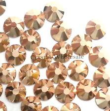 Crystal Rose Gold (001 ROGL) Swarovski 2038 10ss Flatbacks Hotfix Iron-on ss10