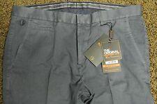 BEN SHERMAN HAMPTON FIT Pants 36X32 NWOT$129 Shaded Navy! Slim Cut!