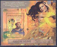 GUINEA 2012 ART GUSTAV KLIMT 150TH BIRTH ANNIVERSARY SOUVENIR SHEET