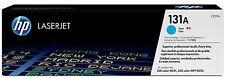 HP Original OEM Cyan Laser Toner Cartridge - 131A - CF211A - 1800 Pages