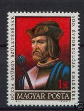 Hungría 1972 Sg # 2686 Gyorgy Dozsa Mnh