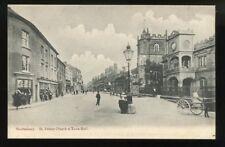 Dorset SHAFTESBURY Church Town Hall early PPC