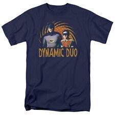 BATMAN Classic TV Series Dynamic Licensed Adult T-Shirt SM-5XL Adam West