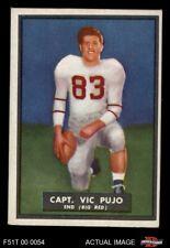 1951 Topps Magic #57 Vic Pujo EX/MT