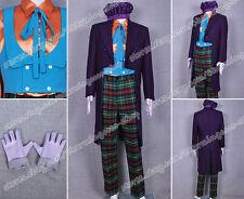 Batman Cosplay Joker Cook Costume Suit Uniform Wonderful For Halloween Full Set