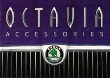 SKODA Octavia accessori 1998-2000 UK Opuscolo Vendite sul mercato