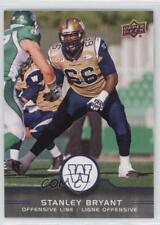 2016 Upper Deck CFL 14 Stanley Bryant Winnipeg Blue Bombers (CFL) RC Rookie Card