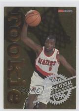 1996 NBA Hoops Rookie #23 Jermaine O'Neal Portland Trail Blazers Basketball Card