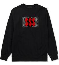 Kings Of NY Money Bandana Crewneck Sweatshirt Gang Hood