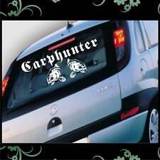 Auto Aufkleber Carp Hunter Angeln Karpfen FZ1281