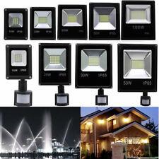 10W 20W 30W 50W 100W Projecteur LED Extérieur Jardin Lampe avec sans detecteur