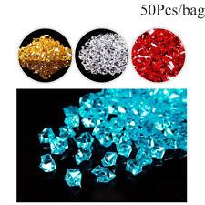 Wedding Ornament Pebbles Vase Filler Artificial Stones Crystal Ice Cubes