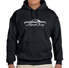 1965 1966 Plymouth Sport Fury Hardtop Design Hoodie Sweatshirt FREE SHIP