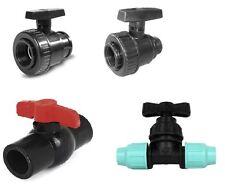 valvola polietilene pvc mf ff  rubinetto 3/4 1 1/4 2 32 40 50 63 irrigazione