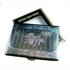 Zigarettenetui Metall Hund Design Zigarettenbox Zigarettenschachtel Tabak Case