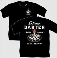 Dartshirt Dart T Shirt Hemden Bekleidung  Extreme Darter Geschenk Geburtstag  14