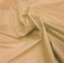 Beige tessuto di nylon 5 OZ (ca. 141.75 g) impermeabile Tenda materiale CAMP Ghette Sedile Copertura All'aperto