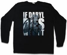 IF DARYL DIES WE RIOT LONG SLEEVE T-SHIRT Dixon The Walking Beißer Zombie Dead