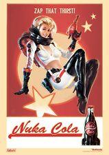 Fallout 4 NUKA-COLA Poster T130 | A4 A3 A2 A1 A0 |