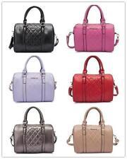 1x Women Leisure Designer Inspired Quilted Fashion Bag Bowl Handbag