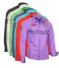 Herren Hemd Herrenhemd Hemden Shirt bestickt Stickerei Binder de Luxe 805