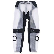 Alpinestars Motorcycle / Motorbike Racing Rain WP Pants / Trousers Clear / Black