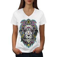 King Jungle Lion Women V-Neck T-shirt NEW | Wellcoda