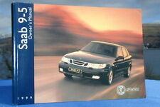 New Rare Original 1999 Saab 95 Handbook Owners Manual