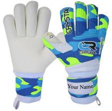 Crystal pro goalkeeper roll finger  goalie gloves size 4/5/6/7/8/9/10.