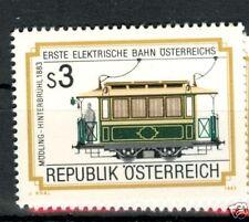 TRENI ELETTRICI - ELECTRIC TRAINS AUSTRIA 1983
