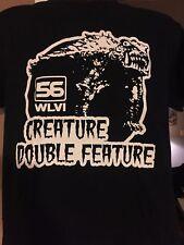 Creature Double Feature T-Shirt Godzilla King Kong WLVI Horror